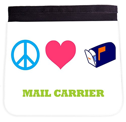 Rikki Knight Peace Love Mail Carrier Additional FLAP for Premium UKBK BackPack - FLAP ONLY (BackPack not included)