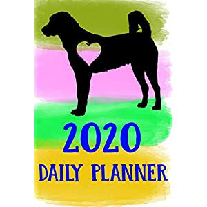 2020 Daily Planner: Anatolian Shepherd 2020 Daily Planner Calendar Schedule Organizer Appointment Journal Notebook For Anatolian Shepherd Dog Puppy Owners Lovers 21