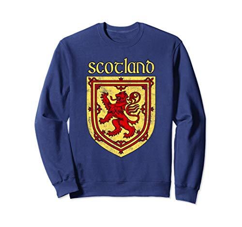 (Scottish Rampant Lion Shirt Scotland Coat of Arms Shirts)