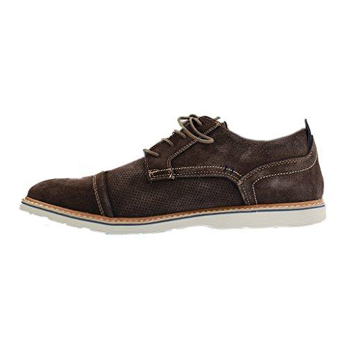 Boras Herren Halbschuhe - Braun Schuhe in Übergrößen