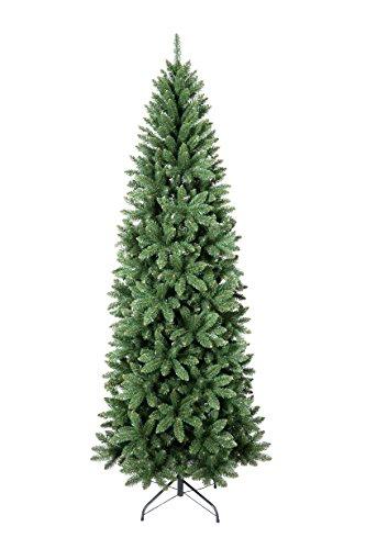 Albero Di Natale Stretto.Xone Slim Albero Di Natale 240cm Molto Folto Foltissimo