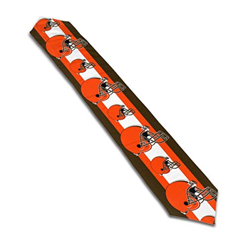 Marrytiny Design Colourful Table Runner Cleveland Browns Football Team 100% Polyester Tablerunner for Kitchen Coffee Dining Living Room 13 x 70 Inch