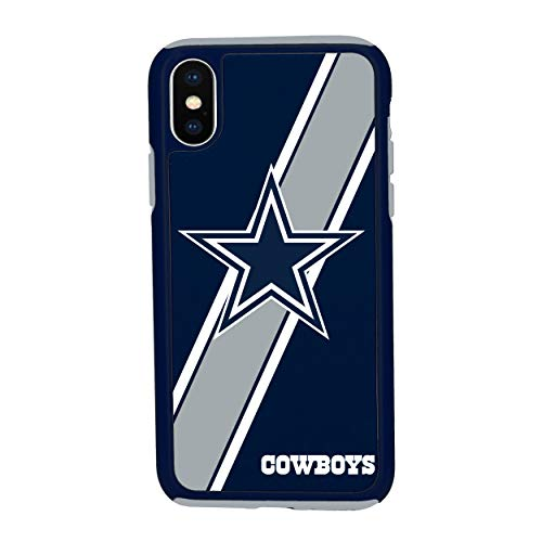iPhone Xs MAX Impact Series Dual Layered Protective Case for NFL Dallas ()