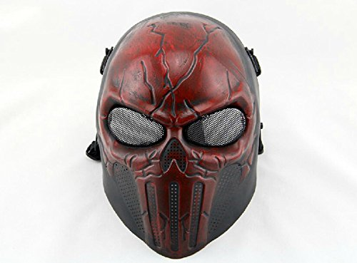 Skull Skeleton Full Head Mask Protect Army Cosplay Mask Skeleton Mask Skull Face Mask (ancient (Skull Mask Ancient)