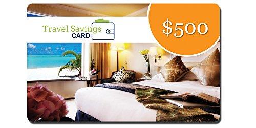 $500 Travel Savings Card (Redeem Gift Card)