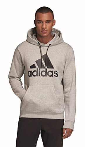 Bos Fl black Mh Po Heather Hombre Sweatshirt Adidas Medium Grey UH5qTpx