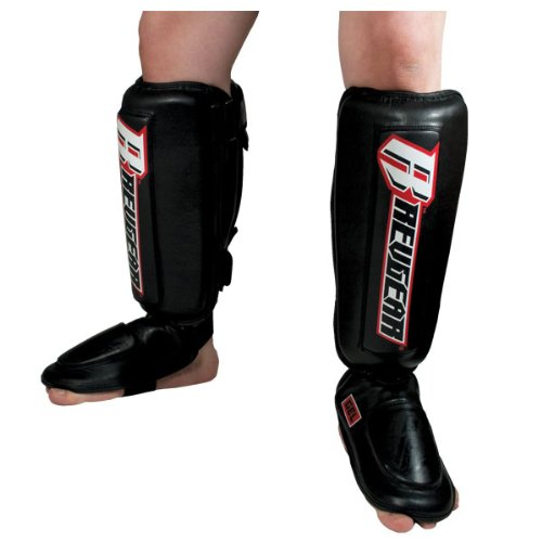 Shin Gel Guard - Revgear Defender Gel Shin Guard (Large)