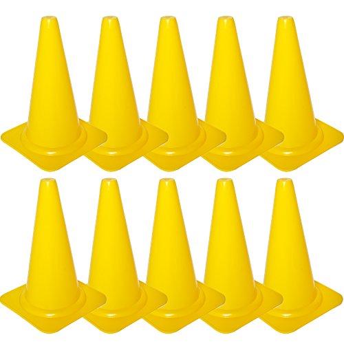 Cawila Markierungskegel 10er, Gelb, 00930063