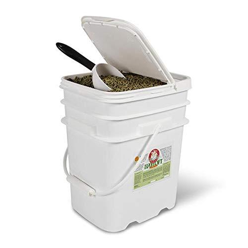KMS Hayloft Competition Rabbit Pellet Feed (10lb Bucket) 10 Lb Rabbit Feed