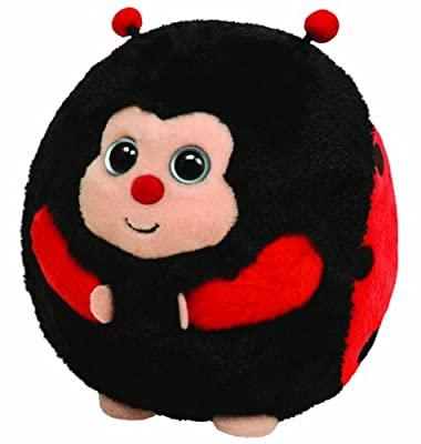 Ty Beanie Ballz Dots - Lady Bug from Ty
