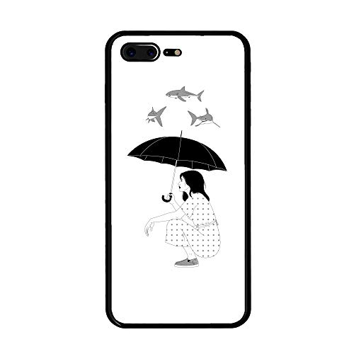 iPhone 8/7 Plus Case, Anti Drop and Dust Hard Plastic Case Cover for iPhone 8/7 Plus(5.5inch) - (Bad Days) ()