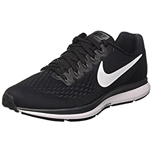 Nike Air Zoom Pegasus 34 Mens Running Shoes nk887009 001 (Black/Dark Grey/Anthracite/White, 10 D(M) US)