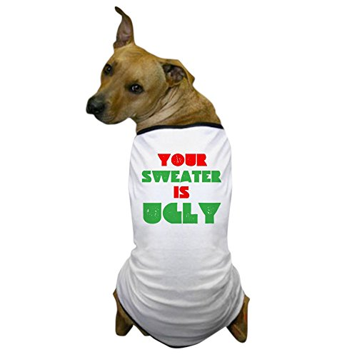 CafePress Christmas Sweater T Shirt Clothing