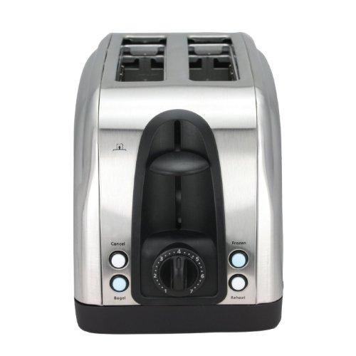 Toaster Stainless Illuminated Buttons Chefman