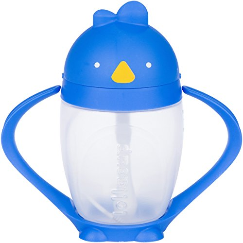 Lollaland Weighted Straw Sippy Cup | Lollacup - Sippy Cups for Toddlers | Shark Tank Products - Best Sippy Cups for Baby Infant & Toddler Ages | Bottle Transition Cups w/Straws]()