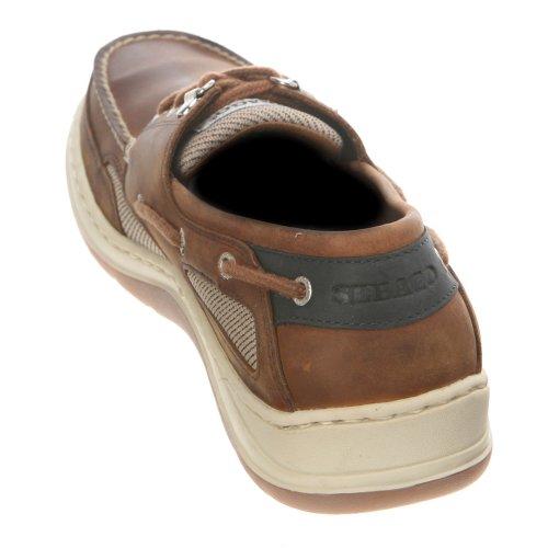 Sebago CLOVEHITCH II B24367 - Náuticos de cuero para hombre Brown
