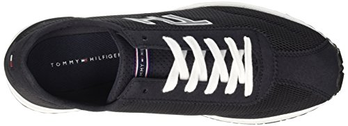 Tommy Hilfiger O2285wen 4c, Men's Flatform Pumps Blu (Midnight 403)