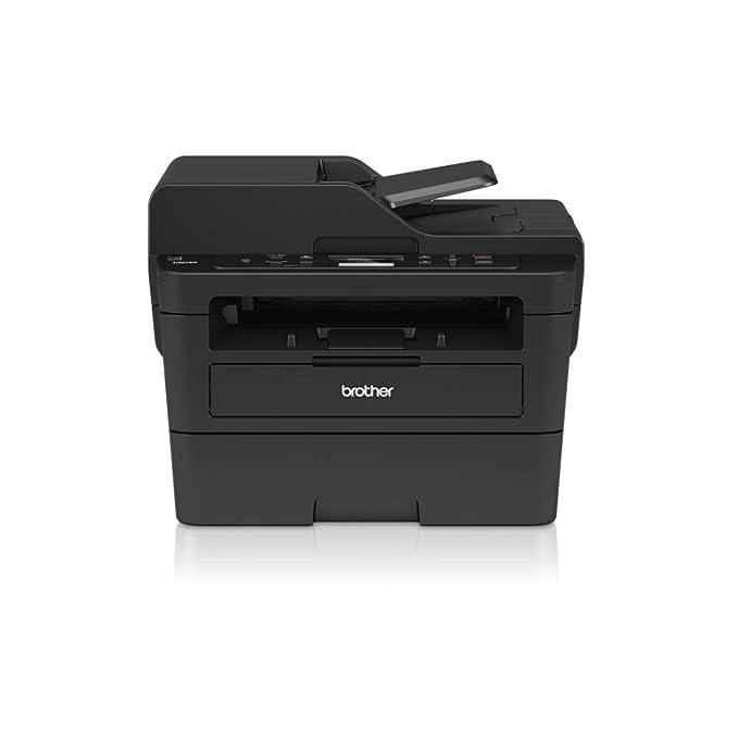 Brother dcpl2550dn Impresora multifunción láser 3in 1Monocromo A 34ppm con Red precableado, Duplex de impresión, ADF de 50Hojas y Pantalla LCD