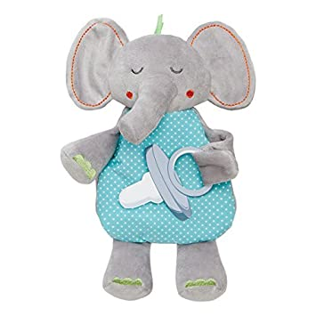 Amazon.com : Chupete o Binky Holder, Elefante : Baby
