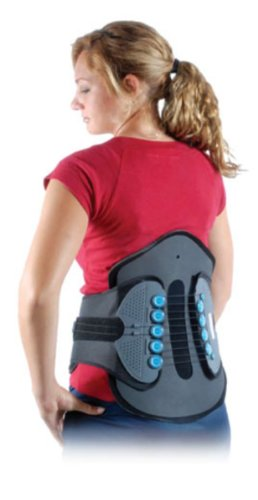Comprehensive Lumbar Sacral Orthotic Back Brace, Small by CyberTech