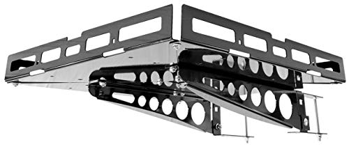 Mount-n-Lock-GennyGo-RV-4in-Bumper-Mounted-Generator-Cargo-Carrier-Tray-Kit-TM-24-x-24-Steel