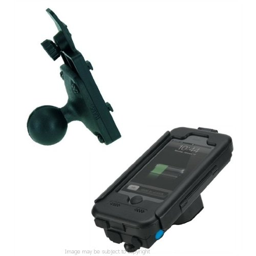 """TiGRA BikeCONSOLE Power Plus for Apple iPhone 5 with 1"""" Ball for RAM Mounts (sku 19377)"""