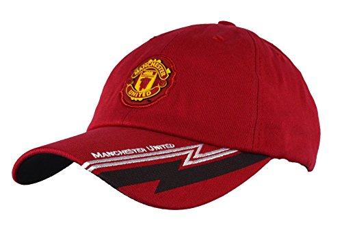 - Manchester United Hat Cap Adjustable Rhinox Group Cap MUFC 100 % Cotton Garment Wash (RED 1697)