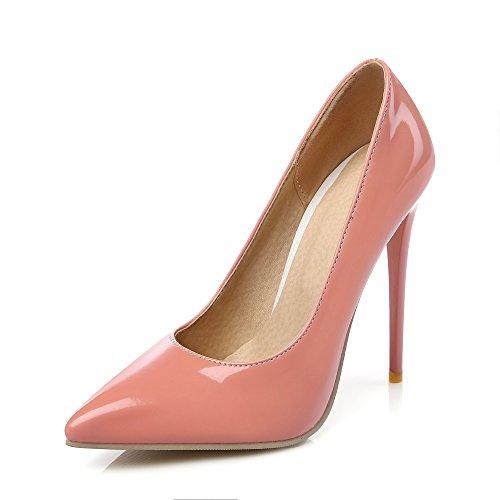 Talon Pointu Super Femmes Haut Rose Dames Bout Stiletto Mode Noir Escarpins Pompes STqwnZWYRv