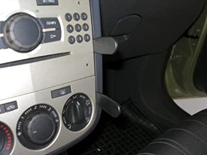 Brodit 853956 Proclip Für Aujahr 2007 2014 Schwarz Elektronik