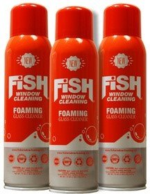 Fish Window Cleaning Foaming Glass Cleaner ()