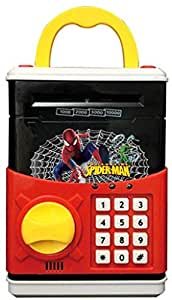 Spider-man money safe Mini Electronic atm bank