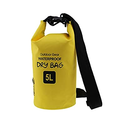 Meijunter PVC Folding Outdoor Storage Dry Bag Pouch for Hiking Swimming/Boating/Canoeing