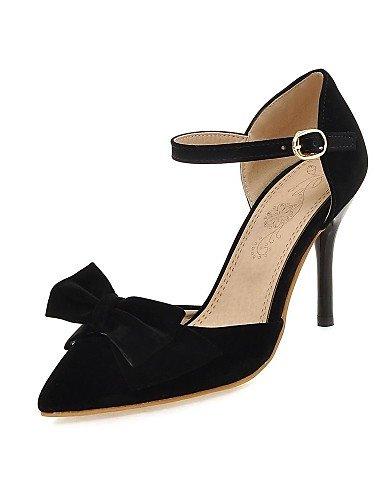 LFNLYX Zapatos de mujer-Tacón Stiletto-Tacones / DOrsay y Dos Piezas / Puntiagudos-Sandalias / Tacones-Exterior / Fiesta y Noche-Microfibra- Red