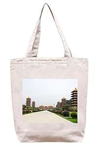 Pagoda–lona de algodón Tote Bag