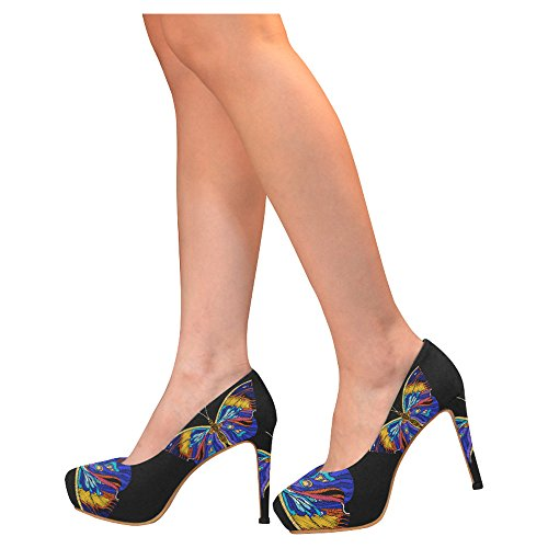 D-Story Flamingo Womens Sexy Stiletto High Heel Pumps Shoes Multicolored23 n462CBlbNZ