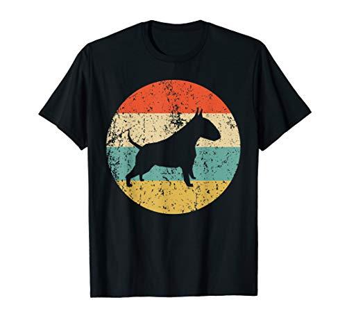 Bull Terrier Shirt - Vintage Retro Bull Terrier Dog T-Shirt