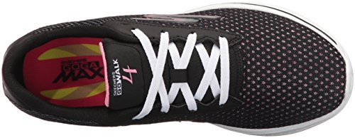 Basses Gowalk Noir Rose Exceed Skechers Femme Baskets 4 pvTggxqI