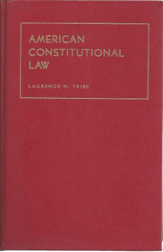 American constitutional law (University textbook series)