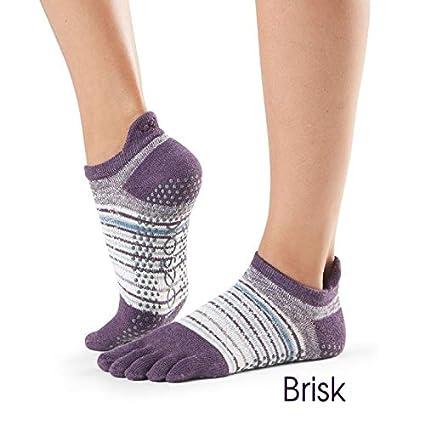 Calcetines de yoga ToeSox al tobillo, varios colores