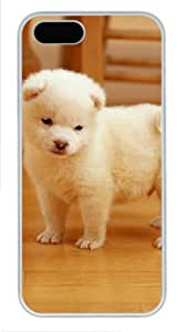 Daze Puppy for cheap iphone 5S cases PC White for Apple iPhone 5/5S