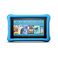 "Tableta Fire 7 Kids Edition, Pantalla de 7 "", 16 GB, Estuche azul para niños"