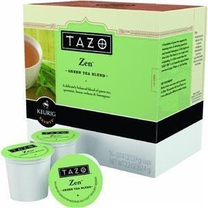 Keurig Tazo Zen Tea 16-Count K-Cups for Keurig Brewers
