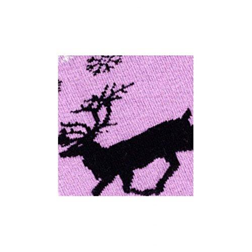 Reideer Modèle Et Mi En Achile Violet chaussettes Coton Laine fpt6xqw