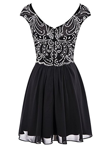 Prom Dresses Bridal Short Annie's Gowns Beaded Women's Blush Homecoming 2016 C7x0wTqv