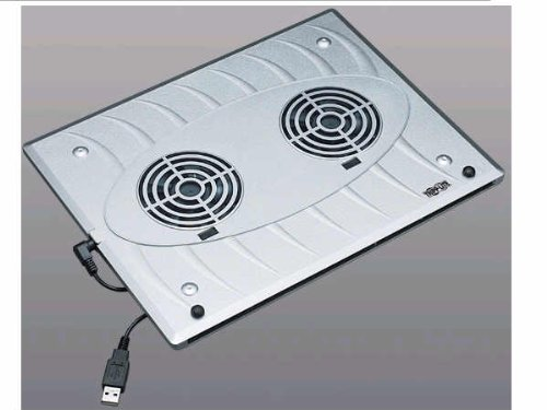 Notebook/Laptop Cooling Pad With 2 Built-In Cooling Fans USB Powered Fans Plastic Enclosure ()