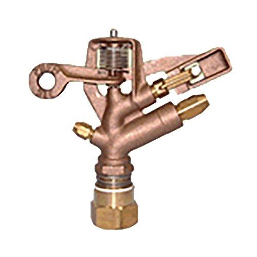 高耐久 金属 (農業用) スプリンクラー 中型 (MM) 75-FWS 口径 5.6×4.4AN×3.6V mm 基本寸法 1PTメス 27度 共立イリゲート 防J【代不】 B01EWEW5C0