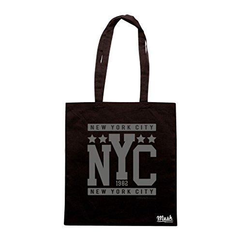 Borsa Nyc New York City - Nera - Famosi by Mush Dress Your Style