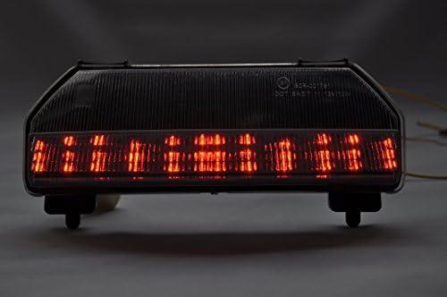 Led Tail Light Int.Turn Signal for HONDA 09-12 FURY; Smoke Lens