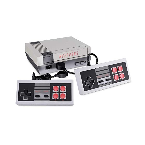 MEEPHONG Retro Game Console, NES Console Classic Video Games