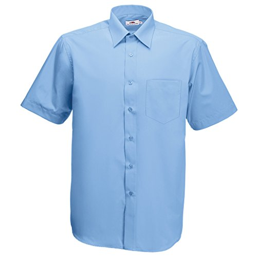 Ss102m Azul Loom Hombre Mediados Of Fruit Camisa De The Para xSt1wp7w